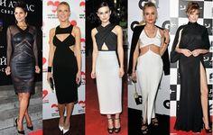 Celebrities Wear Cutout Dresses