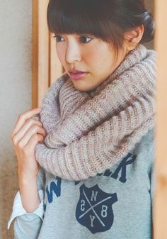 Both English and Japanese versions are fully charted using standard knitting and/or crochet symbols. For help using Japanese charted patterns, please visit the Japanese knitting & crochet group. Crochet Symbols, Yarn Projects, Ravelry, Cowl, Knit Crochet, Hair Beauty, Knitting, Womens Fashion, Pattern
