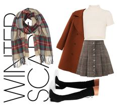 """""""Untitled #89"""" by jessieistrefi on Polyvore featuring Staud, WithChic, M&Co and winterscarf"""
