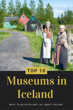 Icelandic history is so rich and the island has numerous museums to tell you these fantastic stories and introduce you to Icelandic culture. Vacation Trips, Dream Vacations, Vacation Ideas, Iceland Museum, Northern Lights Trips, Viking Museum, Camper, Literary Travel, Iceland Adventures