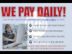 GET PAID DAILY! GO TO.. FREESOCIALMEDIAJO...  & CHECKOUT THIS 100% FREE OPPORTUNITY!