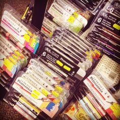 Just had a huge delivery of Promarker sets to add to our range all with around 35% off #promarker #promarkers #drawing #design #lancaster