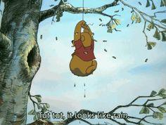 The perfect WinnieThePooh Rain Wheeping Animated GIF for your conversation. Discover and Share the best GIFs on Tenor. Baby Disney, Disney Love, Disney Magic, Disney Pixar, Disney Characters, Pooh Bear, Tigger, Eeyore, Winnie The Pooh Gif