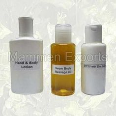 Skin Care Oils And Lotions