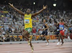 Usain Bolt - the Game Changer. Read at http://wojteknyc.blogspot.com/2012/08/usain-bolt-game-changer.html