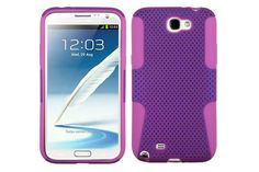 Mesh Pattern Rugged Combo Heavy-duty Hybrid Cases for Samsung Galaxy Note 2 | Lagoo Tech