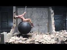WATCH: Miley's 'Wrecking Ball' Video With Sound Effects Instead Of Music