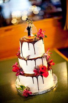 Dias de los Muertos Cake by Short Street Cakes, via Flickr