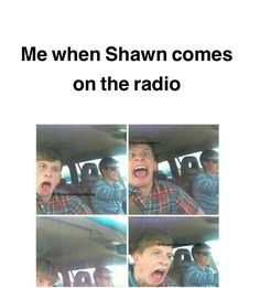 """Hahah this is me and then my mom yells at me for """"singing too loud"""" and I'm like mom it's Shawn Mendes Mendes 98, Mendes Army, Funny Tweets, Funny Memes, Hilarious, Jokes, Shawn Mendes Memes, Shawn Mendes Snapchat, Cameron Dallas"""