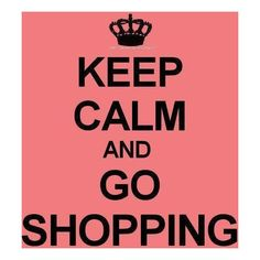 Shopping the best therapy ever!