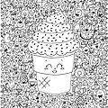 Coloriage art thérapie kawaii (à imprimer)... - des p'tits riens