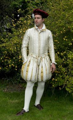 Francis Classe (Master Vyncent ate Wodegate)- A Florentine Outfit in the Style of the 1560s