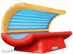 Is this for real??? A kids tanning bed? Come on!