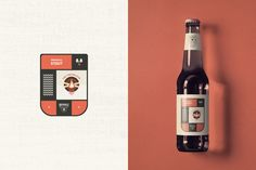 Designer: Mattia Michini  Project Type: Concept  Location: Teramo, Italy  Packaging Contents: Beer   Brand design for a new brewing compan...