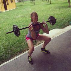 Thruster 35 kg...hard work! ;-)