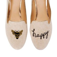 Bee Happy Smoking Slipper | Ballets & Flats | Shoes | Categories | C. Wonder