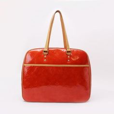 Louis Vuitton Sutton  Monogram Vernis Shoulder bags Red Patent Leather M91080