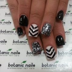 Cool Stylish current nail art! Keeping up on all trends possible to keep me at the to...