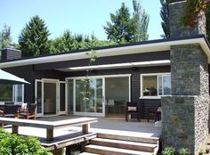 Lakeside classic, Tarawera, New Zealand by Mercer and Mercer Architects.
