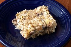 """Nutritious Breakfast Bars - """"These gluten-free and dairy-free bars are super easy and we think they're delicious for a quick breakfast, snack at work, or guilt-free desert!"""" #recipes #GlutenFree"""