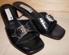 WOMEN'S BRIGHTON 'TYLER' HEELS Mules Shoes SIZE 8 M NEW