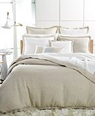 Hotel Collection Linen Natural Queen Duvet Cover