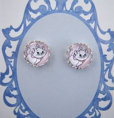 The Aristocats - Marie - Disney - stud earrings