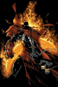 Spawn art by Todd McFarlane & Greg Capullo Marvel Comic Books, Comic Book Heroes, Comic Books Art, Comic Art, Spawn Comics, Arte Dc Comics, Anime Comics, Spawn 1, Comic Book Artists