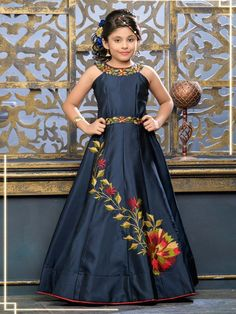 0ff284331e9f8 Girls Gowns: Buy Girls designer gown dresses & frocks Online, Girls Party &  Wedding Gown