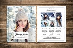 Photography Price List Flyer-V461  @creativework247