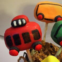 Nicole's Sugary Sweet Boutique  Choo Choo training Cakepops! #cakepop #NicoleSugarySweetBoutique #trains  #traincakepops                                    https://www.facebook.com/nicolesugarysweetboutique/