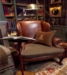 Touch of Southern Grace : The Man's Study