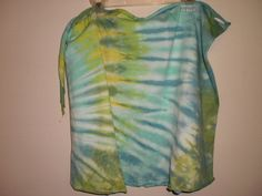 Tie Dye cover up by NereidasNiftyThreads on Etsy, $15.00