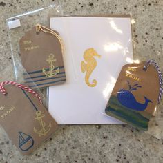 New England Nest Stationary.  Handcrafted in Chester, CT