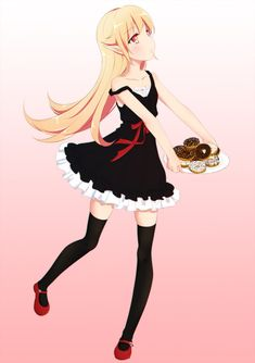 Anime Images, Blushing Emoji, Shinobu Oshino, Kiss Shot, Anime Titles, Monogatari Series, Pop Characters, Anime Base, Cool Animations