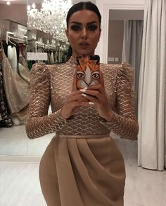 mermaid evening dresses long sleeve champagne sparkle sequin elegant formal evening gown vestido Longo Source by formal dress Hijab Evening Dress, Hijab Dress Party, Long Sleeve Evening Dresses, Mermaid Evening Dresses, Evening Gowns, Dress Long, African Fashion Dresses, Hijab Fashion, Look Fashion