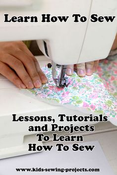 Easy sewing tips are offered on our internet site. look at this and you wont be sorry you did. Sewing Classes For Beginners, Beginner Sewing Patterns, Sewing Stitches, Sewing Classes For Kids, Diy Sewing Projects, Sewing Hacks, Sewing Tutorials, Sewing Crafts, Sewing Tips
