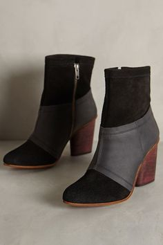 J Shoes Julianne Booties - anthropologie.com