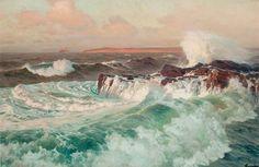 Seascape Frederick Judd Waugh (1861–1940)