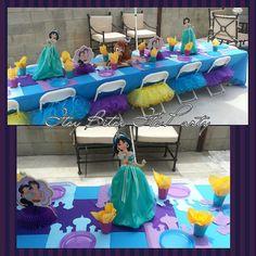 Princess Jasmine centerpieces Princess by itsybitsyitsparty