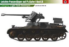 Panzerjäger I Ausf.B mit 50mm Pak 38