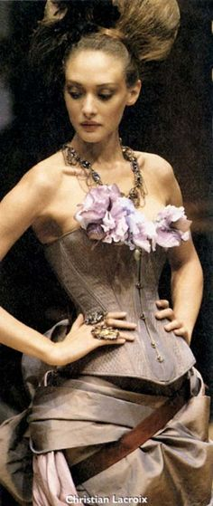 Rococo Inspired ~ Christian Lacroix #rococco return