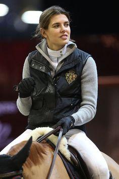 Charlotte Casiraghi Photo - Charlotte Casiraghi Jumps Horses