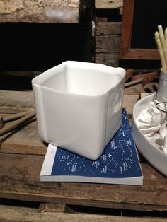 Catch-All Dish, Ceramic Vessel, Square