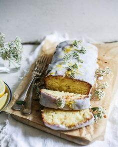In a day spun mad by a crazy dash to the Apple store to hopefully save my laptop (fingers crossed!), I must close the evening off by finnnalllyyy unpacking my bags (oh yeah - I'm back in Melbourne! So sad to leave London 😞) and resist the urge to escape these first world problems by baking us all this 'Lemon & Elderflower Loaf' ~ recipe in the blog archives!