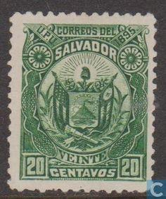 El Salvador - Coat Of Arms 1895
