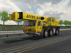 3D Model Crane Industrial - 3D Model