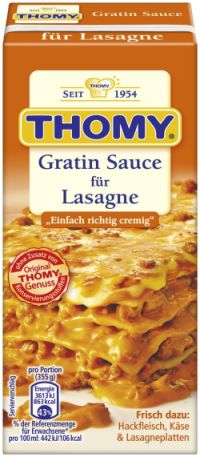 Thomy Gratin Sauce