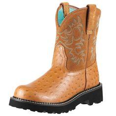 Ariat Women's Fat Cowboy Boot Cognac 5.5 M US Ariat http://www.amazon.com/dp/B000BN6QPY/ref=cm_sw_r_pi_dp_0JFWtb0F1JVXB3EQ