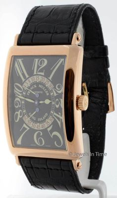 a494ea4c594 Franck Muller Mens Long Island Retrograde 18K Rose Gold Box Papers 1100 DS  R 18k Rose